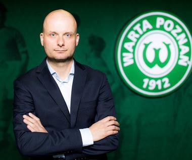 Duże zmiany w Warcie Poznań. Bartosz Wolny nowym prezesem