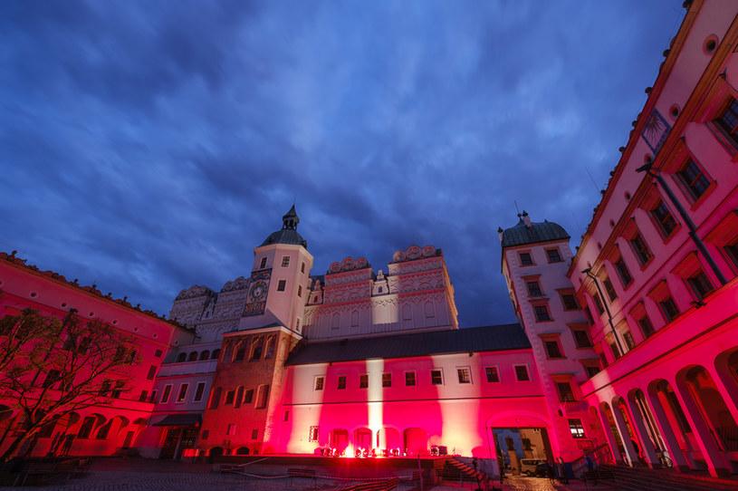 Duży dziedziniec Zamku Książąt Pomorskich w Szczecinie. /Dariusz Gorajski /Agencja FORUM