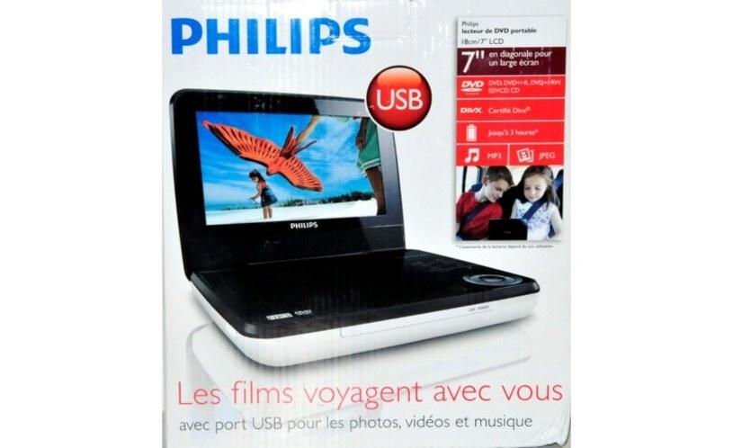 DVD Philips PD7030 /materiały prasowe