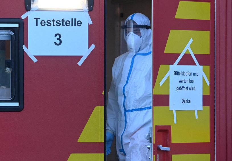 Dwa centra testowe dla pracowników transgranicznych powstaną w Meklemburgii-Pomorzu Przednim przy granicy z Polską /CHRISTOF STACHE / AFP /AFP