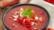 Dwa gazpacho - zielone i czerwone
