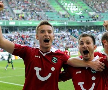 Dwa gole Artura Sobiecha dla Hannoveru w meczu z Wolfsburgiem