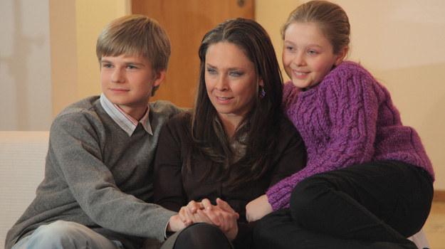 Dwa lata temu Beata zniknęła bez śladu zostawiając męża i dwójkę dzieci. Czy teraz będzie próbowała odzyskać rodzinę? /Agencja W. Impact