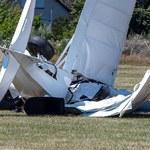 Dwa małe samoloty zderzyły się w powietrzu. 5 osób nie żyje
