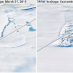 Dwa nowe jeziora pod lodami Antarktydy