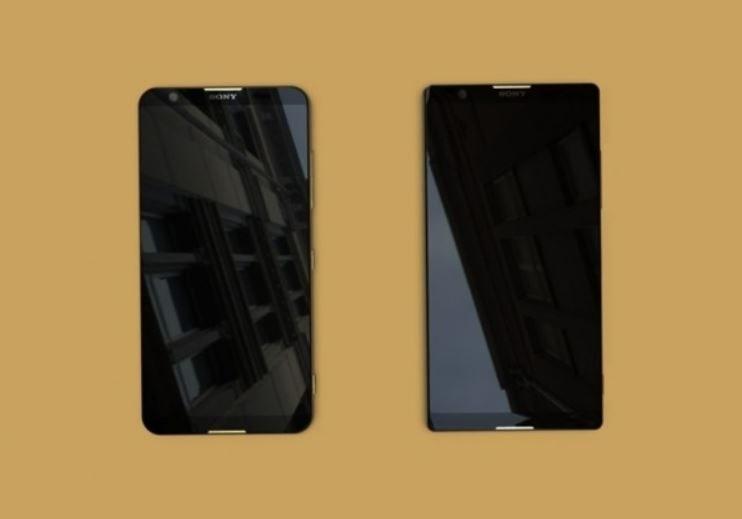 Dwa nowe modele Sony Xperia z przodu /MyDrivers /Internet