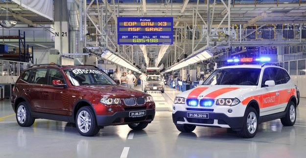 Dwa ostatnie BMW X3 /