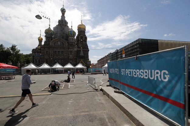 Dwa spotkania Polska reprezentacja zagra w Sankt Petersburgu /ANATOLY MALTSEV  /PAP/EPA