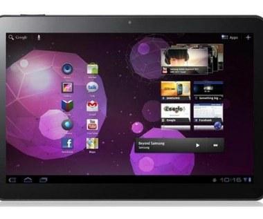Dwa tablety Samsunga z aktualizacją do Androida 4.0