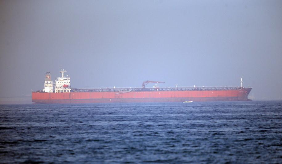 Dwa tankowce były w czwartek rano celem niezidentyfikowanych ataków u wybrzeży Iranu /ALI HAIDER /PAP