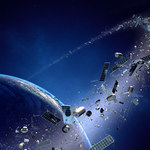 Dwa wielkie kosmiczne śmieci przeleciały nad Ziemią