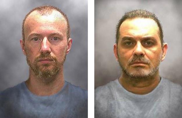 Dwaj uciekinierzy z więzienia w stanie Nowy Jork /NEW YORK STATE POLICE / HANDOUT /PAP/EPA