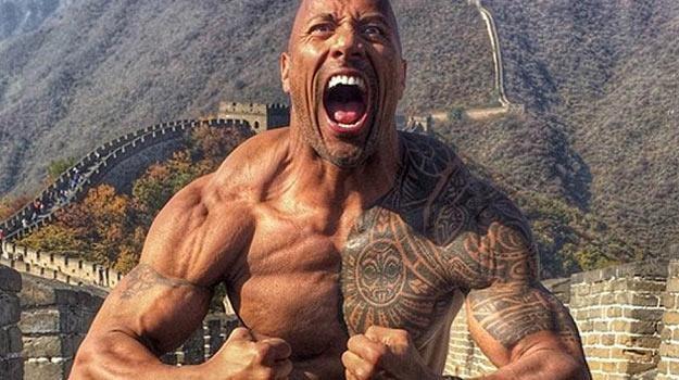 Dwayne Johnson: China Power! - fot. Instagram /