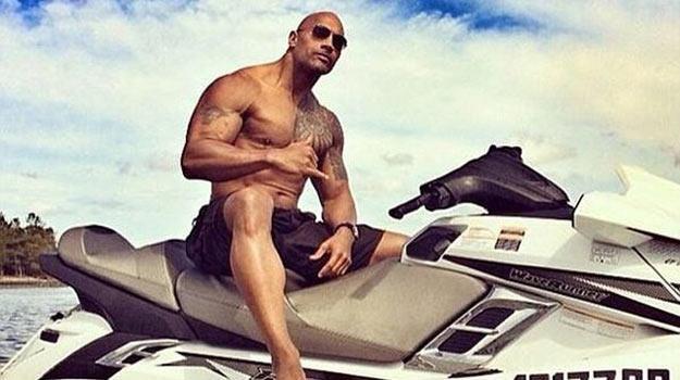 Dwayne Johnson jest już gotowy! - fot. Instagram /