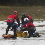Dwie akcje ratunkowe na Rysach