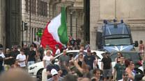 Dwie demonstracje w Rzymie. Protestują przeciwko wprowadzeniu zielonych paszportów covidowych