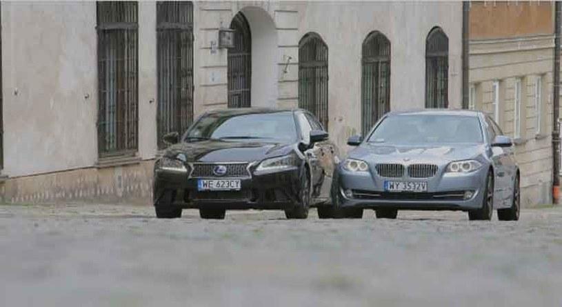 Dwie hybrydy: lexus i BMW /INTERIA.PL