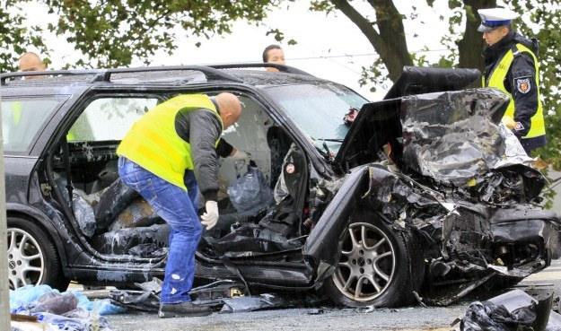Dwie osoby jadące oplem odniosły obrażenia /PAP