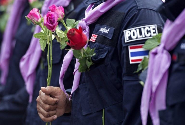 Dwie osoby zginęły, a 22 zostały ranne na skutek wybuchu granatu /AFP