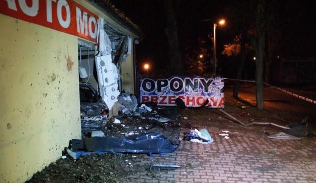 Dwie osoby zginęły, dwie zostały ranne /Policja