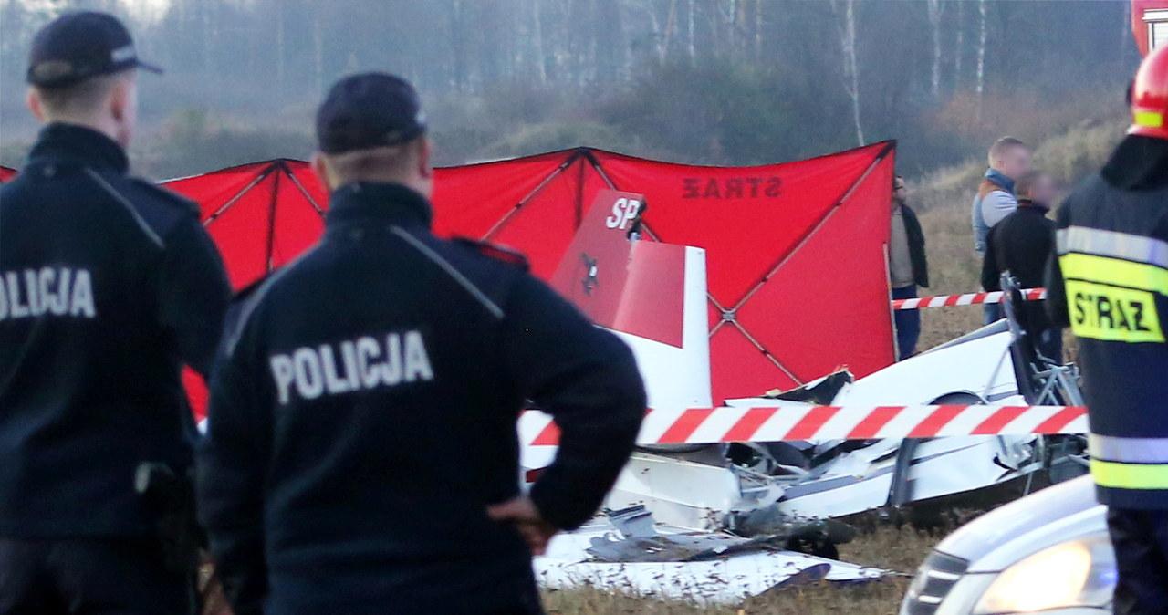 Dwie osoby zginęły w wypadku samolotu pod Częstochową