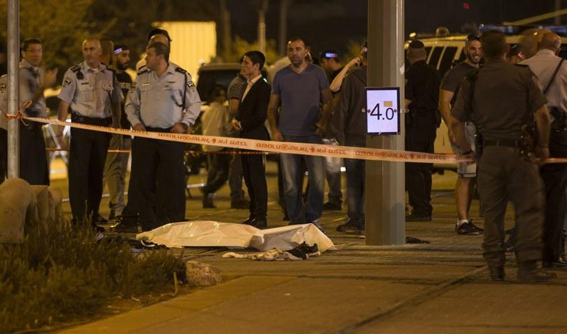 Dwie osoby zostały zasztyletowane w Jerozolimie /PAP/EPA