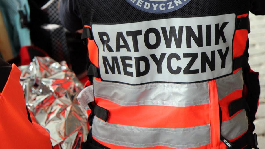 Dwie ranne osoby trafiły do szpitala /Zdjęcie ilustracyjne /Archiwum RMF FM