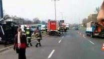 Dwie śmiertelne ofiary wypadku!
