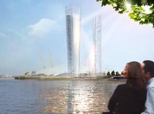 Dwie wieże, które nie rzucają cienia