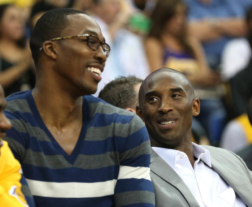 Dwight Howard i Kobe Bryant liczą na udany sezon w wykonaniu LA Lakers /AFP