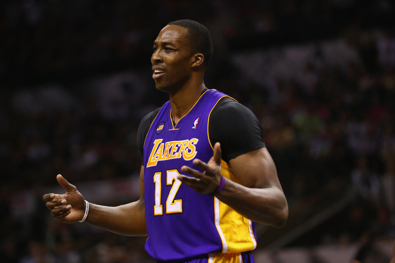 Dwight Howard postanowił odejść z Los Angeles Lakers /AFP