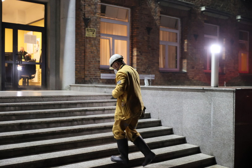 Dwóch górników zginęło w kopalni Mysłowice-Wesoła /Andrzej Grygiel /PAP