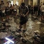 Dwóch mężczyzn podejrzanych o wywołanie paniki w Turynie
