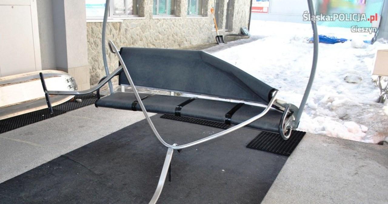 Dwóch mężczyzn spadło z wyciągu krzesełkowego w Wiśle