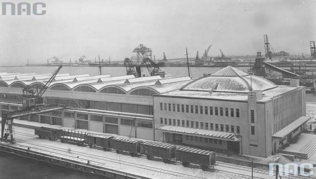 Dworzec Morski w Gdyni /Z archiwum Narodowego Archiwum Cyfrowego