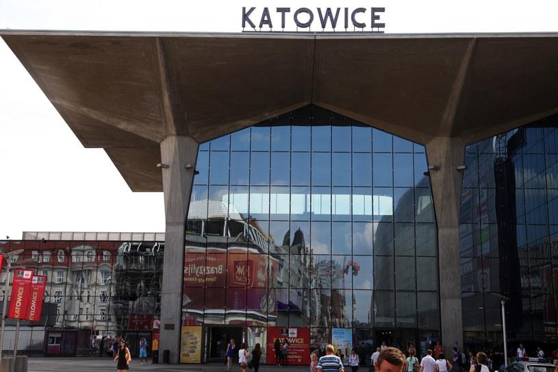 Dworzec PKP w Katowicach /Jerzy Pawleta /Agencja FORUM