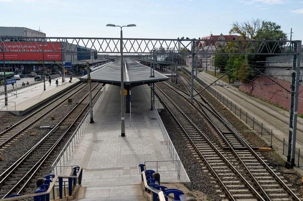 Dworzec Poznań Główny (zdjęcie archiwalne) /Jakub Kaczmarczyk   /PAP