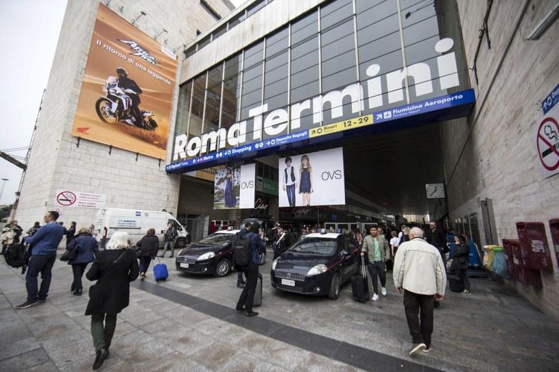 Dworzec Termini w Rzymie /PAP/EPA