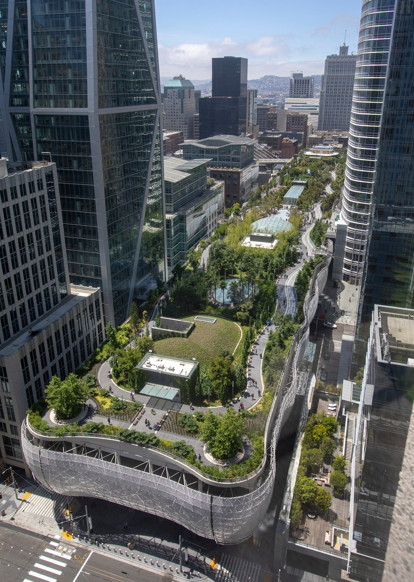Dworzec Transbay Transit Center /Getty Images