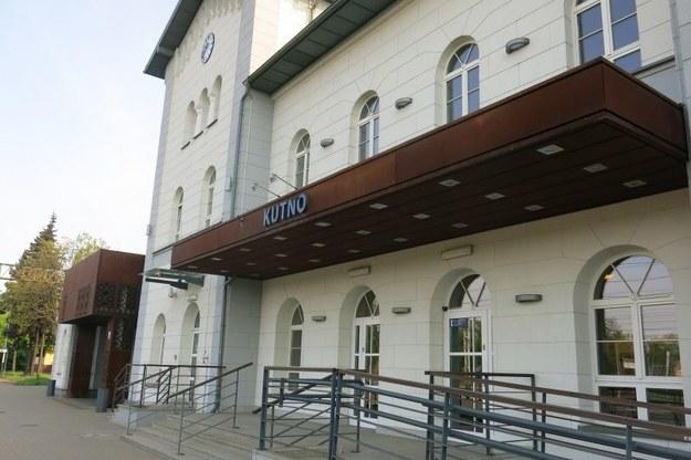 Dworzec w Kutnie /Jacek Skóra /RMF FM