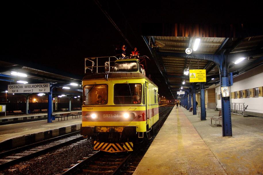 Dworzec w Ostrowcu Wielkopolskim /Tomasz Wojtasik /PAP