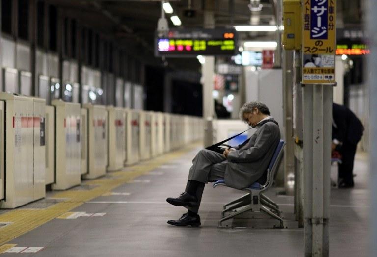 Dworzec w Tokio, zdj. ilustracyjne /AFP