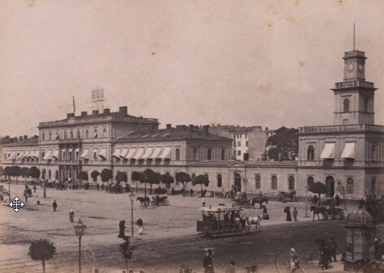Dworzec Wiedeński został zburzony przez Niemców w 1944 roku /Wikimedia
