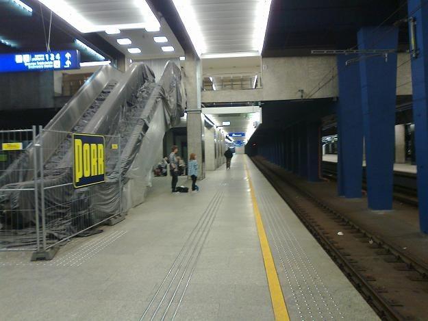Dworzech Warszawa Centralna (w remoncie przed Euro 2012) /INTERIA.PL