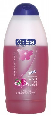 Dwufazowy płyn do kąpieli w mleku i płatkach róży /INTERIA.PL