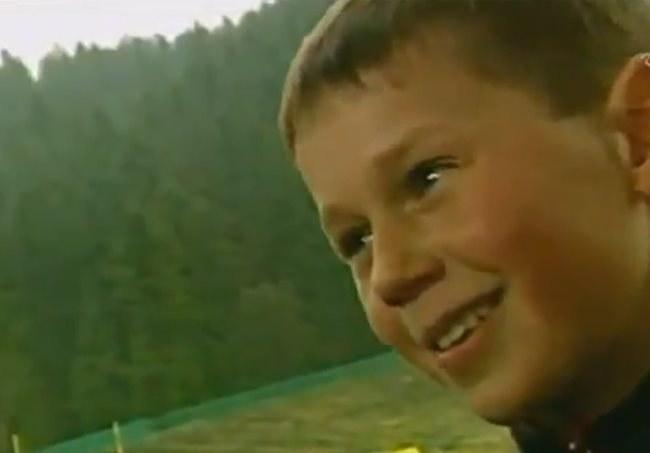 Dwunastoletni Kamil Stoch. /INTERIA.PL
