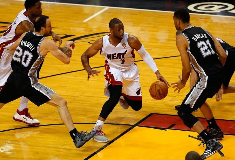 Dwyane Wade z Miami Heat /AFP