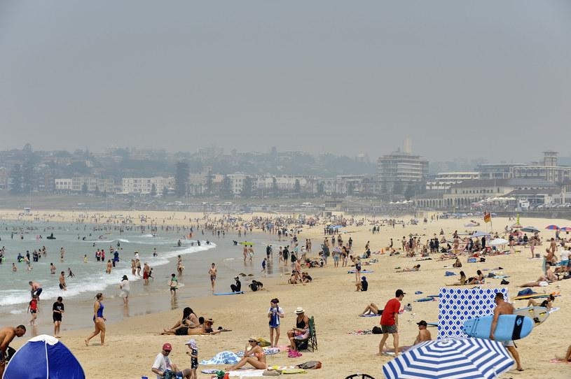 Dym nad plażą Bondi w Sydney /Saverio Marfia /Getty Images