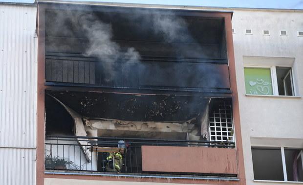 Dym odciął drogę ucieczki 12-latce. Dramatyczna akcja strażaków w Poznaniu
