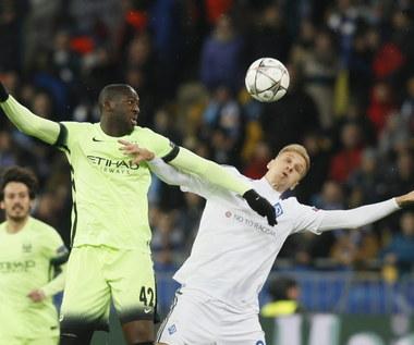Dynamo Kijów - Manchester City 1-3 w 1/8 finału Ligi Mistrzów